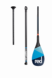Весло SUP разборное RED PADDLE 2021 CARBON 100% CARBON (3 piece) AntiTwist